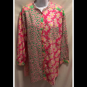 Size Large Lilly Pulitzer Blouse
